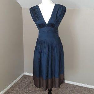 BCBGMaxAzria 100% Silk Dress